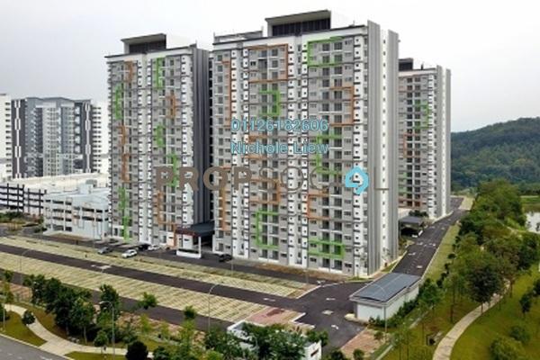 For Sale Condominium at D'Cerrum @ Setia EcoHill, Semenyih Freehold Semi Furnished 3R/2B 265k
