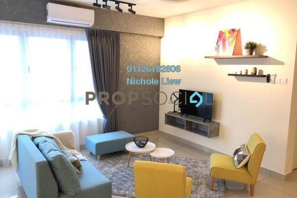 For Sale Serviced Residence at Saville @ Cheras, Cheras South Freehold Fully Furnished 3R/2B 750k