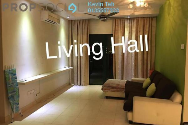 For Rent Condominium at Changkat View, Dutamas Freehold Fully Furnished 3R/2B 2.2k