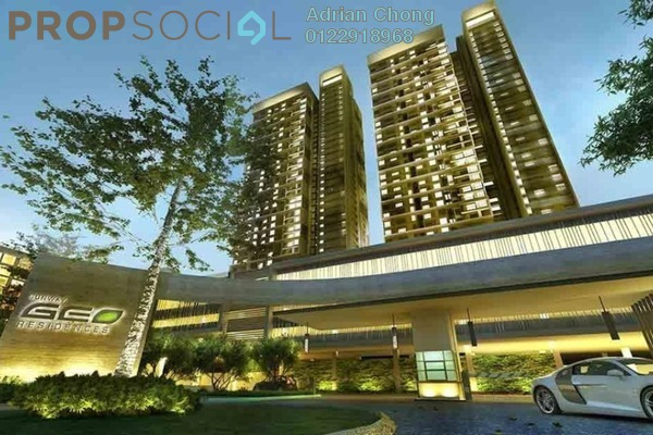For Sale Serviced Residence at Sunway GEO Residences, Bandar Sunway Freehold Fully Furnished 5R/3B 1.25m