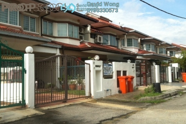 For Sale Terrace at Seri Utama, Kota Damansara Freehold Semi Furnished 4R/3B 900k