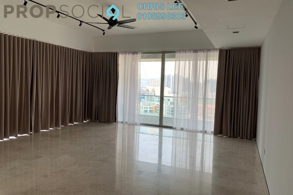 For Rent Condominium at Park Seven, KLCC Freehold Semi Furnished 3R/3B 9k