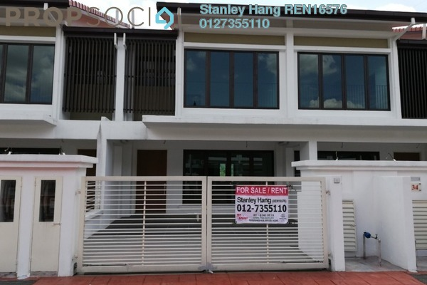 For Sale Terrace at BK7, Bandar Kinrara Freehold Semi Furnished 4R/3B 1.09m