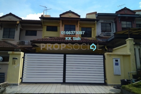 For Sale Link at Bandar Damai Perdana, Cheras South Freehold Fully Furnished 4R/3B 630k