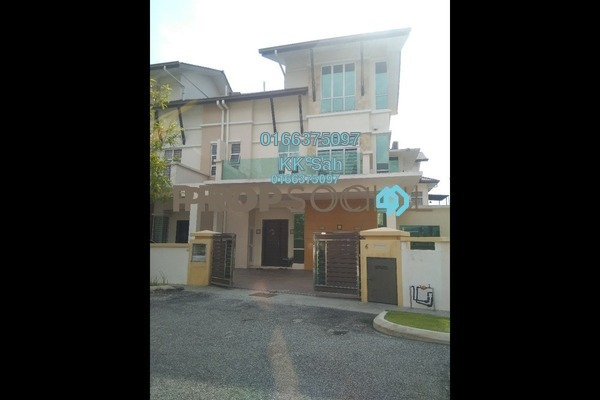 For Sale Semi-Detached at Casa Residence, Bandar Mahkota Cheras Freehold Semi Furnished 6R/5B 1.28m