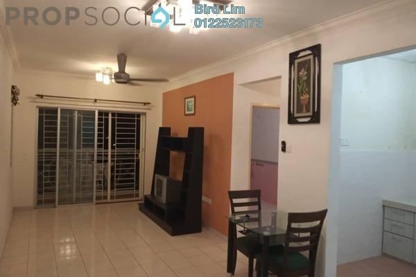 For Rent Condominium at Casa Riana, Bandar Putra Permai Freehold Semi Furnished 3R/2B 1.2k