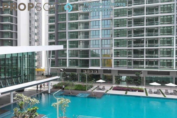 For Sale Condominium at The Z Residence, Bukit Jalil Freehold Semi Furnished 3R/2B 615k