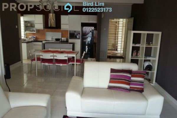 For Rent Condominium at Villa Pavilion, Seri Kembangan Freehold Fully Furnished 3R/2B 1.6k
