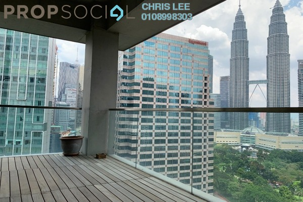 For Sale Condominium at Park Seven, KLCC Freehold Semi Furnished 3R/3B 4.32m