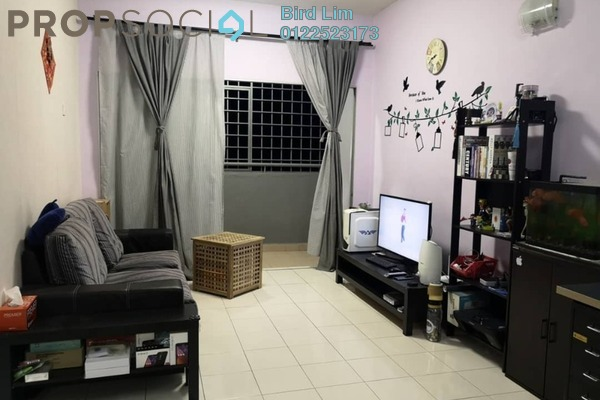 For Sale Apartment at Desa Saujana, Seri Kembangan Freehold Semi Furnished 3R/2B 308k