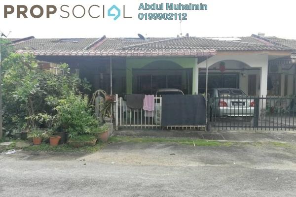 For Sale Terrace at Taman Bukit Mewah, Kajang Freehold Semi Furnished 3R/2B 350k