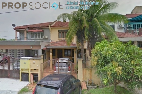 For Sale Terrace at Saujana Puchong, Puchong Freehold Semi Furnished 4R/3B 480k