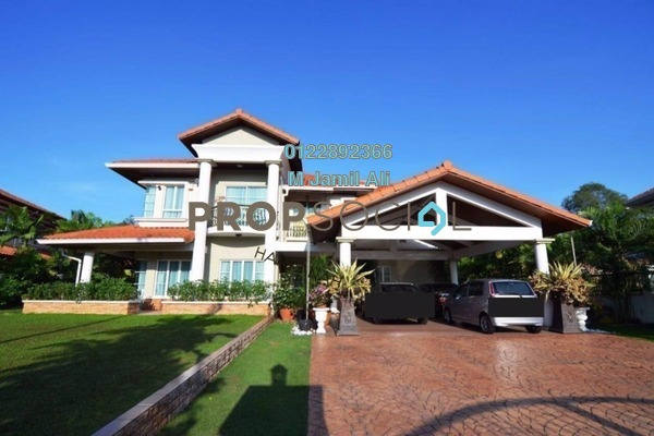 For Sale Bungalow at Suadamai, Bandar Tun Hussein Onn Freehold Semi Furnished 5R/5B 2.9m