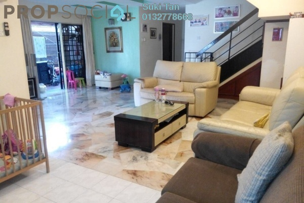 For Sale Terrace at Taman Menjalara, Bandar Menjalara Freehold Semi Furnished 4R/3B 1.2m