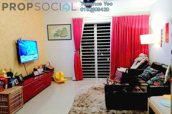 For Sale Condominium at Zen Residence, Puchong Leasehold Semi Furnished 3R/2B 580k