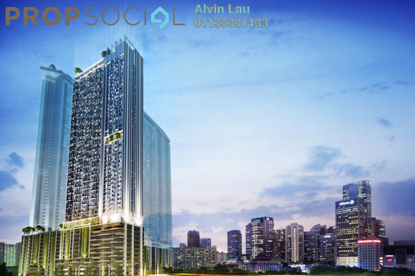 For Sale SoHo/Studio at Riveria City, Brickfields Leasehold Fully Furnished 1R/1B 325k