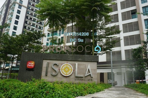 For Sale Condominium at Isola, Subang Jaya Freehold Unfurnished 3R/4B 1.5m