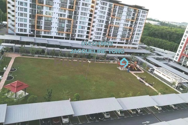 For Sale Apartment at Green Suria Apartment, Bandar Tun Hussein Onn Freehold Unfurnished 3R/2B 335k