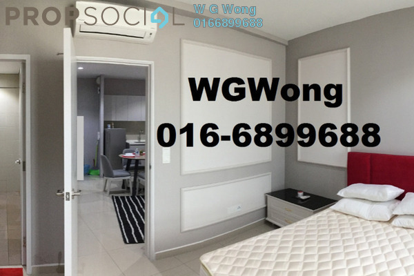 For Rent Serviced Residence at i-City, Shah Alam Freehold Fully Furnished 1R/1B 1.25k