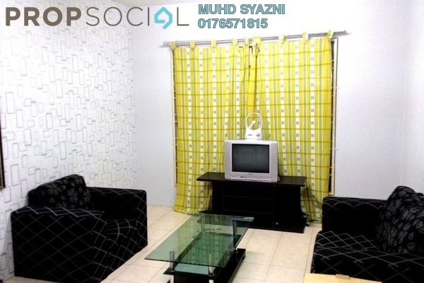 For Sale Apartment at Section 7, Shah Alam Leasehold Fully Furnished 3R/2B 225k
