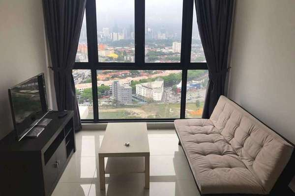 For Rent Condominium at Shamelin Star Serviced Residences, Cheras Freehold Fully Furnished 2R/2B 2.2k