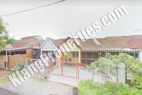 For Sale Terrace at Taman Pendamar Indah 1, Port Klang Freehold Unfurnished 3R/2B 330k