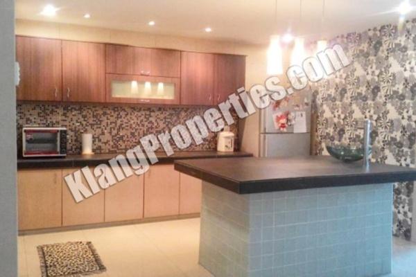 For Sale Terrace at Jalan Meru, Klang Freehold Fully Furnished 5R/5B 888k