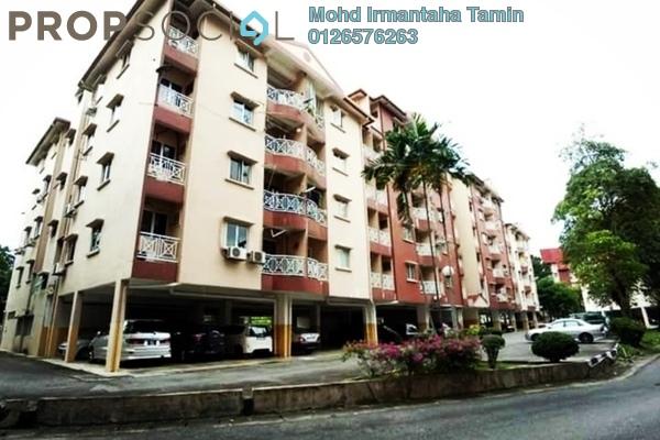 For Rent Condominium at Teratai Mewah Condominium, Setapak Freehold Fully Furnished 3R/2B 1.35k