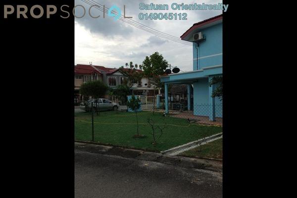 For Sale Terrace at Taman Puchong Utama, Puchong Freehold Semi Furnished 4R/3B 900k