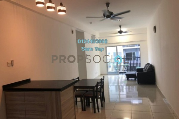 For Rent Serviced Residence at BSP 21, Bandar Saujana Putra Freehold Fully Furnished 4R/2B 2.5k