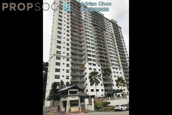 For Sale Condominium at Alpine Tower, Bukit Jambul Freehold Semi Furnished 3R/2B 450k