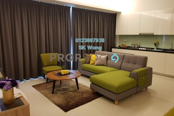 For Rent Condominium at Verticas Residensi, Bukit Ceylon Freehold Fully Furnished 1R/1B 3.5k