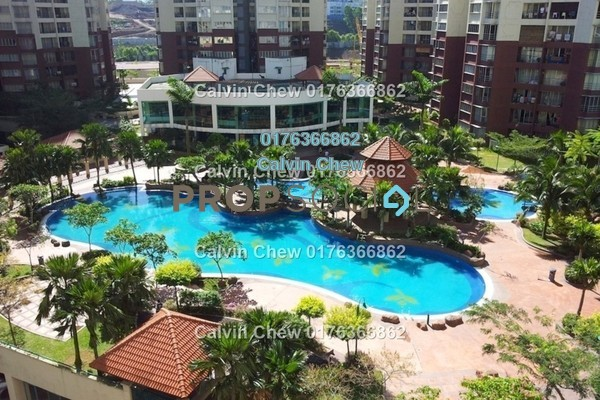 For Sale Condominium at Villa Wangsamas, Wangsa Maju Freehold Unfurnished 3R/2B 396k