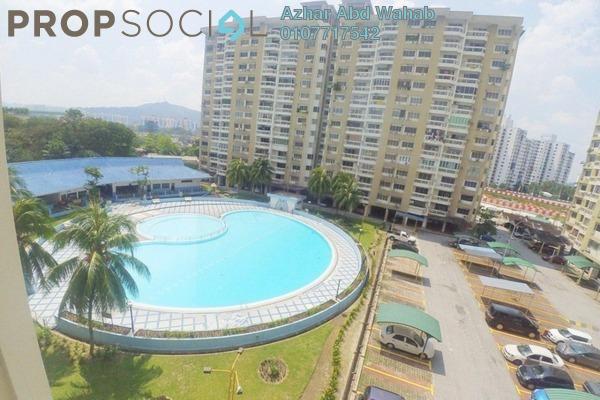 For Sale Condominium at Petaling Indah, Sungai Besi Freehold Semi Furnished 3R/2B 380k