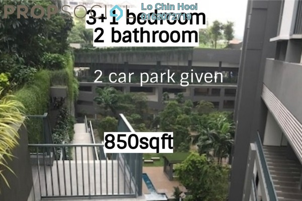 For Sale Condominium at Henna Residence @ The Quartz, Wangsa Maju Freehold Unfurnished 3R/2B 485k