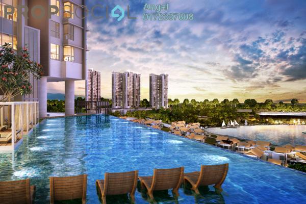 For Sale Condominium at Residensi Platinum Teratai, Kuala Lumpur Freehold Fully Furnished 3R/2B 360k