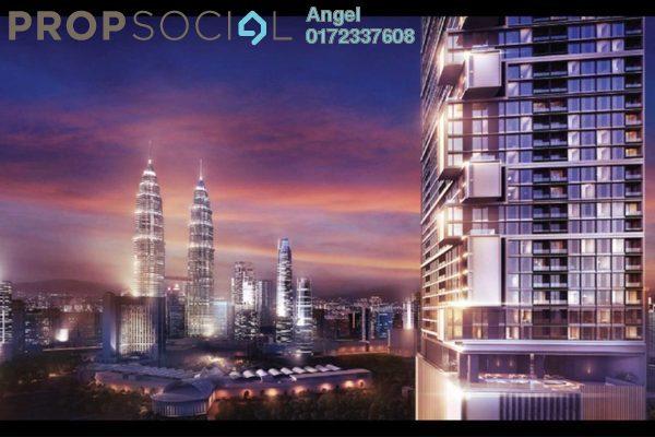 For Sale Condominium at M Centura, Sentul Freehold Semi Furnished 2R/1B 350k