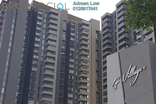 For Rent Serviced Residence at G Residence, Desa Pandan Freehold Fully Furnished 2R/2B 3k