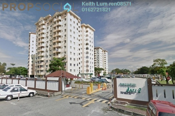 For Sale Condominium at Jati 1 Apartment, Subang Jaya Leasehold Unfurnished 3R/2B 330k