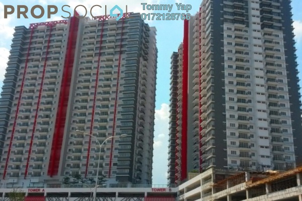 For Sale Condominium at Koi Prima, Puchong Freehold Semi Furnished 3R/2B 400k