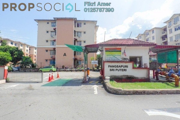 For Sale Apartment at Sri Puteri Apartment, Ukay Leasehold Unfurnished 3R/2B 230k