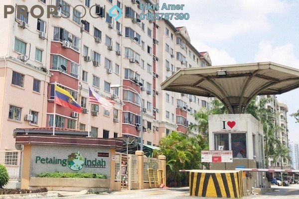 For Sale Condominium at Petaling Indah, Sungai Besi Leasehold Semi Furnished 3R/2B 380k