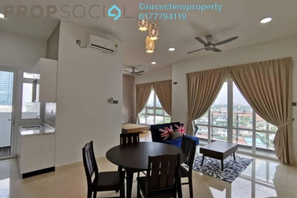 For Rent Condominium at TriTower Residence, Johor Bahru Freehold Fully Furnished 0R/1B 2.1k