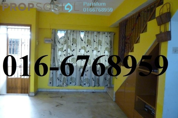 For Sale Apartment at Pandan Jaya, Pandan Indah Freehold Unfurnished 2R/1B 230k