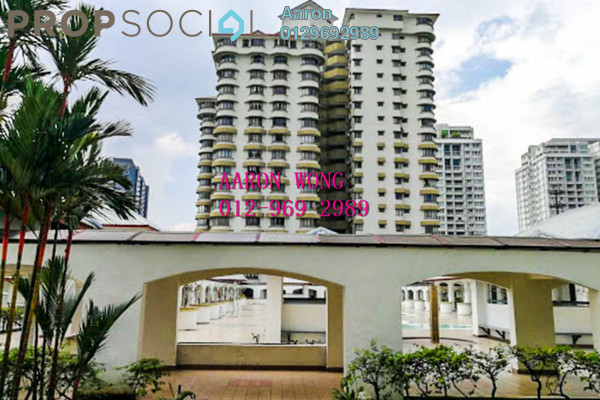 For Sale Condominium at Menara Polo, Ampang Hilir Freehold Semi Furnished 3R/2B 565k