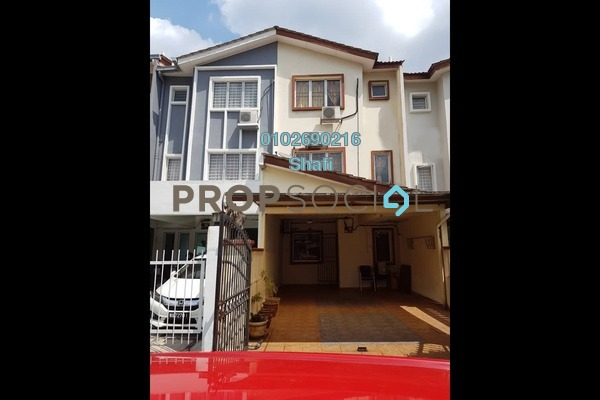 For Sale Terrace at Taman Selayang Mulia, Selayang Freehold Fully Furnished 3R/4B 600k