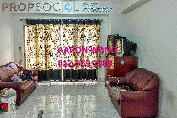 For Sale Condominium at Setapak Ria Condominium, Setapak Freehold Semi Furnished 3R/2B 355k