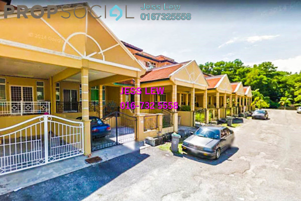 For Sale Terrace at Taman Dahlia, Bukit Beruang Freehold Semi Furnished 5R/3B 400k