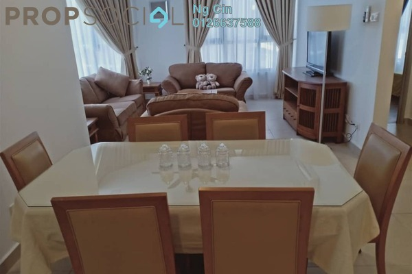For Rent Serviced Residence at KL Gateway, Bangsar South Freehold Fully Furnished 3R/2B 3.9k