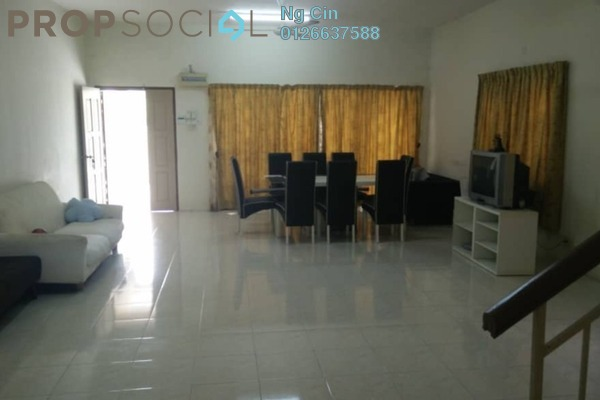 For Rent Terrace at Subang Impian, Shah Alam Freehold Semi Furnished 3R/3B 1.4k